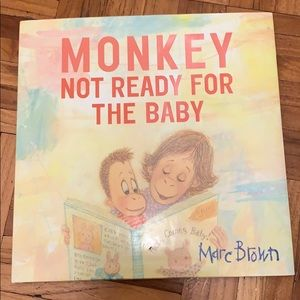 Monkey Not Ready for The Baby Book